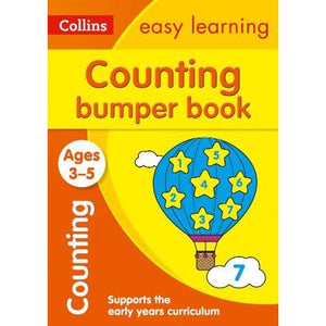 Counting Bumper Book Ages 3-5 - HarperCollins Publishers 9780008275457