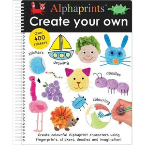 Create Your Own Alphaprints - Priddy Books 9781783416981