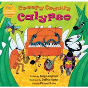 Creepy Crawly Calypso With CD - Barefoot Books 9781846868283