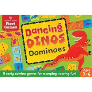Dancing Dinos Dominoes - Barefoot Books 9781782854319