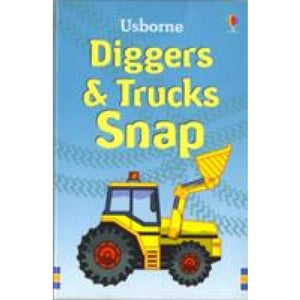 Diggers and Trucks Snap - Usborne Books 9780746089200