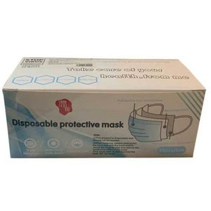 Disposable Face Masks Thickened 3 ply Box of 50 - BrightMinds
