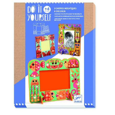 Image of Djeco Animal World Mosaic Frame - 3070900079038