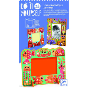 Djeco Animal World Mosaic Frame - 3070900079038