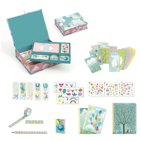 Image of Djeco Charlotte Box Stationery Set - 3070900035027