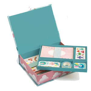 Djeco Charlotte Box Stationery Set - 3070900035027