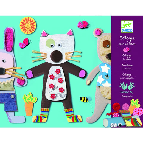Image of Djeco Collage for Little Ones - 3070900086647