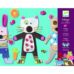 Djeco Collage for Little Ones - 3070900086647
