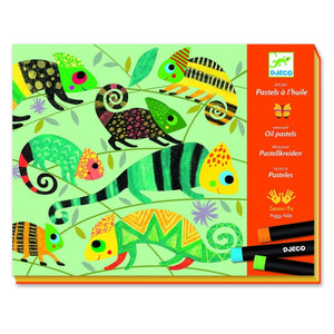 Djeco Coloured Jungle Pastels - 3070900086180