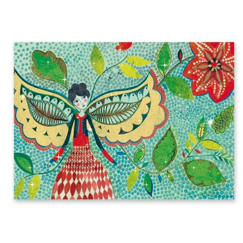 Image of Djeco Fireflies Foil Pictures - 3070900095144