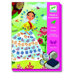 Djeco Flowers maidens Stamps set