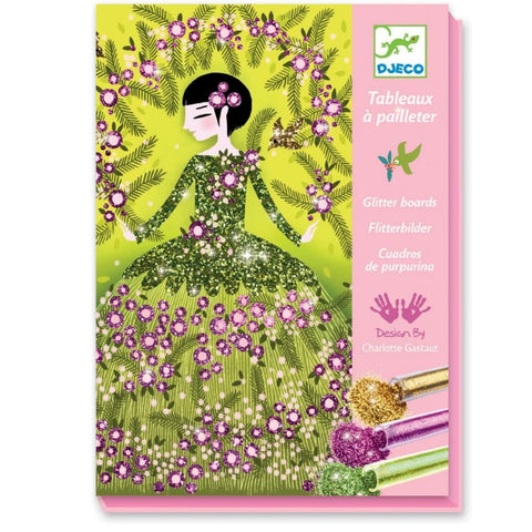 Image of Djeco Glitter dresses boards