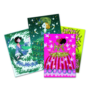 Djeco Glitter dresses boards
