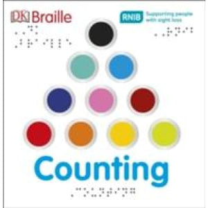 DK Braille Counting - Dorling Kindersley 9780241228340