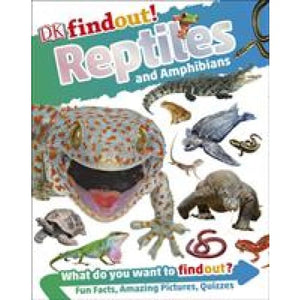 DKfindout! Reptiles and Amphibians - Dorling Kindersley 9780241285015