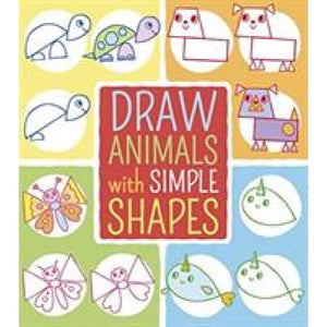 Draw Animals with Simple Shapes - Arcturus Publishing 9781788885027