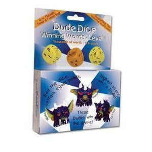 Dude Dice Winning Words Game - Zoobookoo 5060170960042