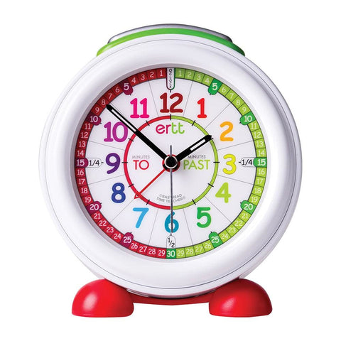 Image of Easyread Time Teaching Past- to Alarm Clock Rainbow - Teacher 0799439457928