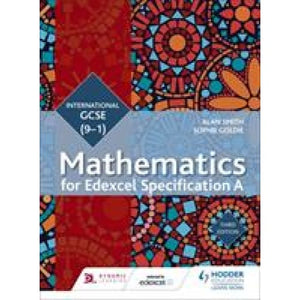 Edexcel International GCSE (9-1) Mathematics Student Book Third Edition - Hodder Education 9781471889028