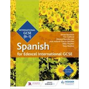 Edexcel International GCSE Spanish Student Book Second Edition - Hodder Education 9781510403345