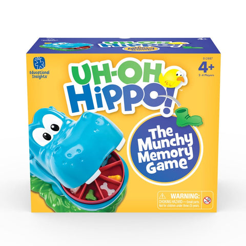 Image of Educational Insights Uh Oh Hippo - Learning Resources 086002028877