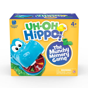 Educational Insights Uh Oh Hippo - Learning Resources 086002028877