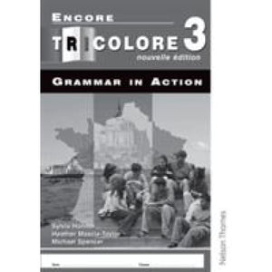 Encore Tricolore Nouvelle 3 Grammar in Action Workbook Pack (x8) - Oxford University Press 9780748795024