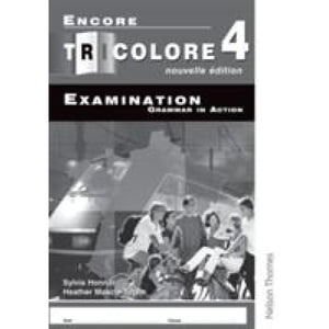Encore Tricolore Nouvelle 4 Grammar in Action Workbook Pack (x8) - Oxford University Press 9780748795048