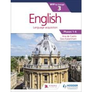 English for the IB MYP 3 - Hodder Education 9781471880674