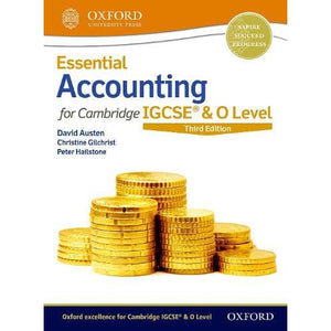 Essential Accounting for Cambridge IGCSE (R) & O Level - Oxford University Press 9780198424833