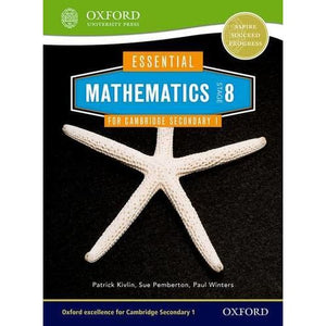 Essential Mathematics for Cambridge Lower Secondary Stage 8 - Oxford University Press 9781408519868