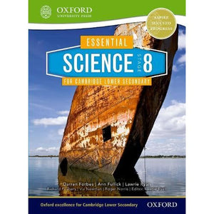 Essential Science for Cambridge Lower Secondary Stage 8 Student Book - Oxford University Press 9780198399834