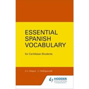 Essential Spanish Vocabulary for Caribbean Students - Hodder Education 9780582765801