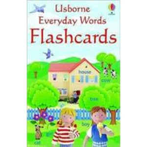 Everyday Word Flashcards - Usborne Books 9780746066539