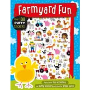 Farmyard Fun Puffy Sticker Book - Make Believe Ideas