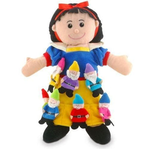 Fiesta Crafts Snow White And The Seven Dwarfs Puppets - 5034309105635