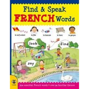 Find & Speak French Words: Look Say - b small publishing 9781911509417