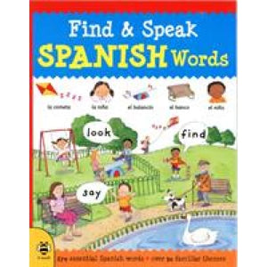 Find & Speak Spanish Words: Look Say - b small publishing 9781911509424