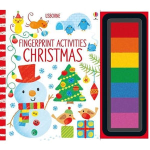 Fingerprint Activities Christmas - Usborne Books