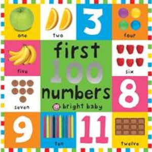 First 100 Numbers: Board Book - Priddy Books 9781849156141