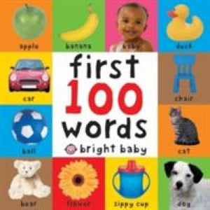 First 100 Words - Priddy Books 9781843322924