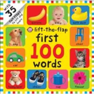 First 100 Words: Lift The Flap - Priddy Books 9781849159364