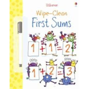 First Sums - Usborne Books 9781409551492