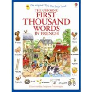 First Thousand Words in French - Usborne Books