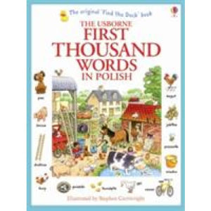 First Thousand Words in Polish - Usborne Books
