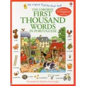 First Thousand Words in Portugese - Usborne Books