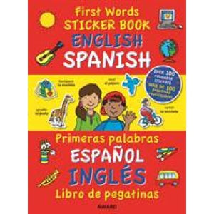 First Words Sticker Book: English - Spanish - Award Publications 9781841358031
