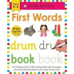 First Words: Wipe Clean Workbooks - Priddy Books 9781783415977