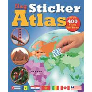 Flag Sticker Atlas - Award Publications 9781907604515