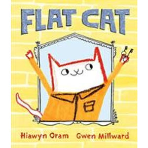 Flat Cat - Walker Books 9781406371543